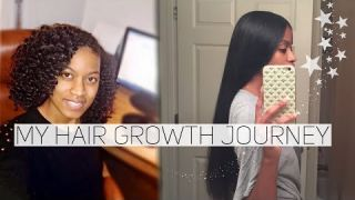 How Did My Hair Grow So Fast?|2018 Natural Hair Journey (Awkward Length to Hip Length)